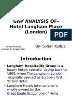 Gap Analysis Hotel Langham