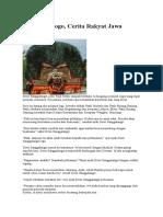 Reog Ponorogo Cerita Rakyat Jawa Timur