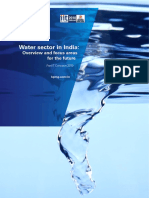 Water Sector in India