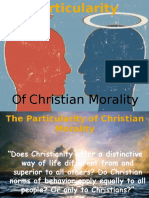Chapter2- Particularity of Christian Morality