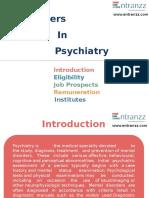 Careers in Psychiatry