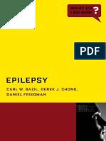 Epilepsy (What Do I Do Now)