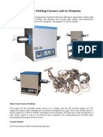 Induction Melting Furnace and Its Elements