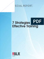 09 7 Strategies for Effective Training