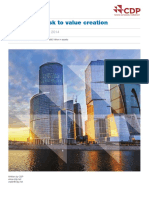 CDP Global Water Report 2014