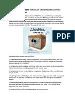 No-HP-0813-5743-1299-(Telkomsel) | Cara Menetaskan Telur Bebek Secara Manual