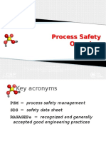 Process Safety Overview