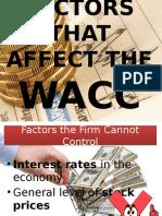 Factors That Affect the Wacc