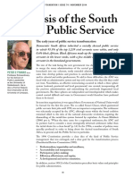 9. the Crisis of the South African Public Service - P Franks