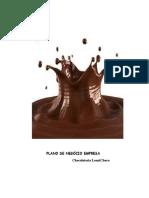 Plano de Negocios Chocolateria