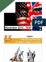 Test - 5.º b e e - Nov 2015-Correção