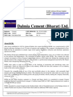 Dalmia Cement (Bharat) Ltd - FAMS - Financial Assets Managed Simply™  Research