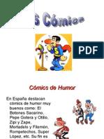 PRESENTACION COMICS 6º