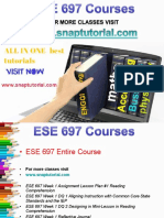 ESE 697 Academic Success/snaptutorial