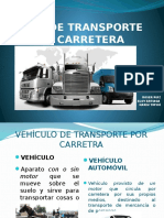 Tipos de Vehículos de Transporte de Mercancías