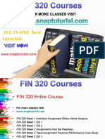 FIN 320 Academic Success/snaptutorial