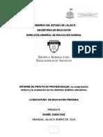 INFORME DE PRÁCTICASPROFESIONALES