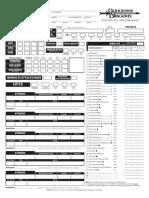 Scheda PG Editabile D&D