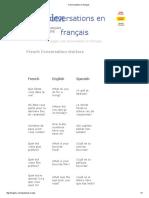 Conversations en Français