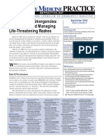 Dermatologic Emergencies Diagnosing and Managing Life-Threatening Rashes