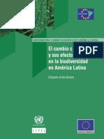Documento Sobre Cambio Climatico