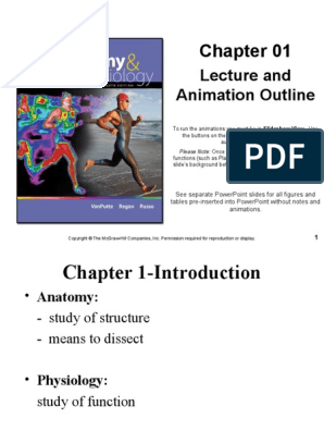 Seeley's : Chapter 1 Introduction to Anatomy and Physiology