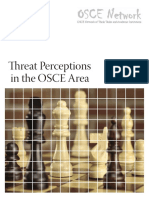 Threat Perceptions in the OSCE area