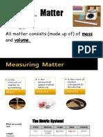 measuring matter-2