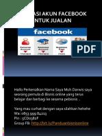 Optimasi Fb Untuk Jualan 1