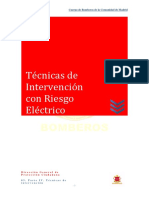 Técnicas de Intervención Con Riesgo Eléctrico