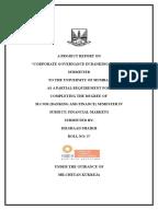 Corporate governance failures master dissertation