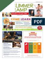Summer Camp, Education & Program Guide 0216 wew