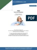 Julie Immo Emulator