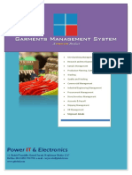 pite garments management system