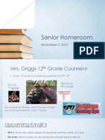 senior homeroom 110215