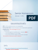 senior homeroom 011116