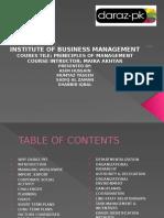 Management in Daraz.pk