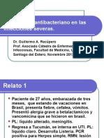 Tratamiento Antibacteriano en I Severas Compaginado