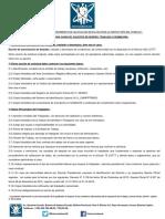 Requisitos Procedimiento Calificación de Faltas.