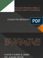 Principios Del Proceso Penal y Garantías Constitucionales