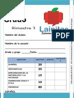 2do Grado primaria - Bimestre 3 (2012-2013)