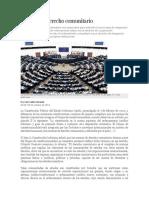 Bolivia y El Derecho Comunitario