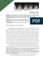 A PrA PRÁTICA SOCIAL DA LEITURA LITERÁRIA E A FORMAÇÃO DO SUJEITO