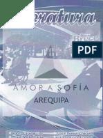 Literatura - Amor a Sofía (Arequipa)
