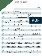 Solo Contigo Alto PDF