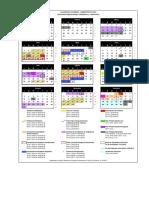 Calendario-Postgrado-2016 UNY
