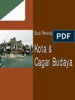 Kota Dan Cagar Budaya