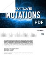 Evolve Mutations Manual English