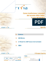 C4C FieldService SuccessStory Exprivia