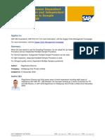 Comparison Between Dependent Multiple Samples and Independent Multiple Samples in Sample Management - QM